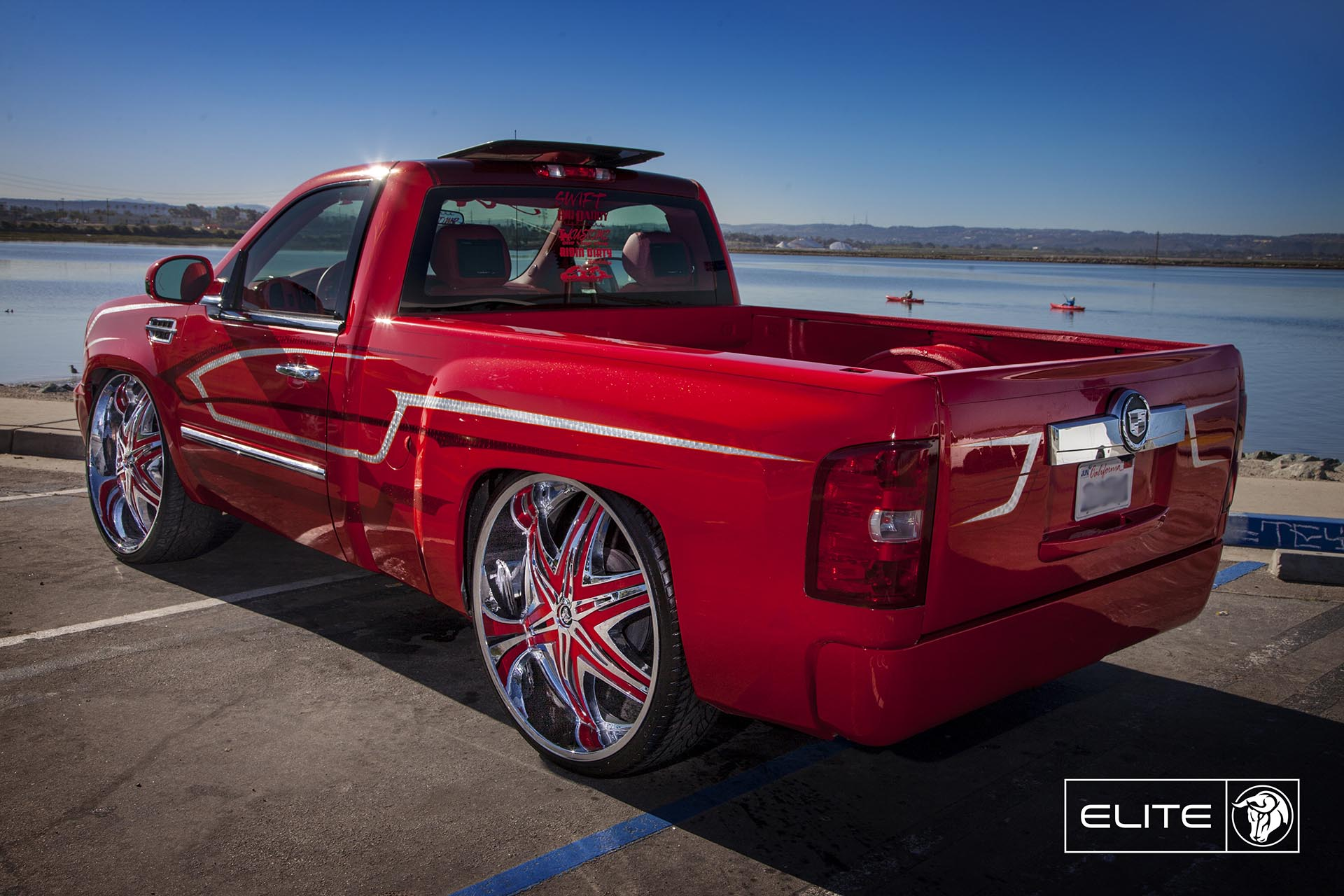 Chrome Diablo Elite Wheels on a Chevy Silverado