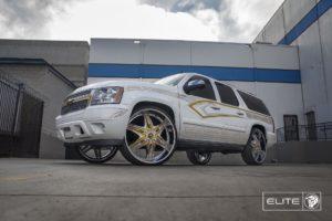 Chrome Diablo Elite Wheels on a Chevy Tahoe
