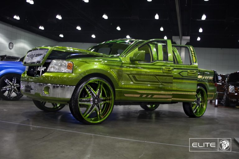 Chrome Diablo Elite Wheels on a Ford F150