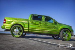 Chrome Diablo Elite Wheels on a Ford F150