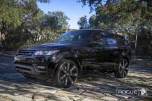Black Diablo Rogue Wheels on a Land Rover Range Rover